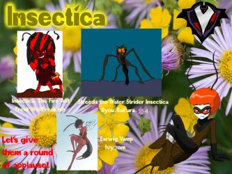Insectica Spring Fever Participants by PlayboyVampire