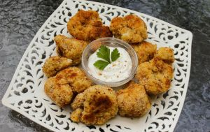 Breaded Cauliflower by Kitteh-Pawz