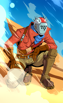 Rustlord by TreyBarksArt