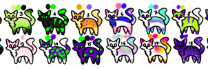Cat Adopts [4/20 OPEN][5 POINTS EACH] by StormlingAdopts