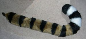 Realistic tiger tail commission by Bladespark