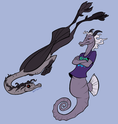 Mermay - Ray and Alexander by CrazyRatty