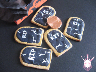 1:3 Gravestone Cookies by WindsorPhotography