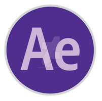 After Effects Icon Update 2 by hamzasaleem