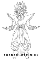Fused Zamasu (Xeno) - DBXV2 by Thanachote-Nick