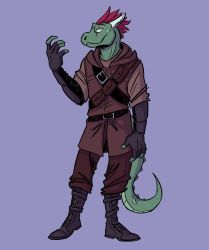 Argonian by QuietBadger