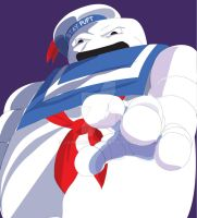Stay-Puft Marshmallow Man by Jabroni312