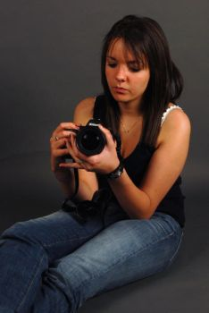 camera girl 1 by FreeStyledStock