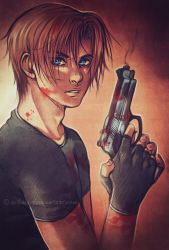Leon Scott Kennedy by AikaXx