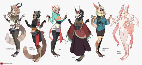 Adoptables batch | auction closed by MOHNOT