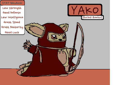Yako (Exiled Zenko) by Brockisnothere