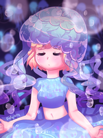 Jellyfish by Purinri