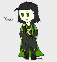 Kneel. by DragonWolfGirl2