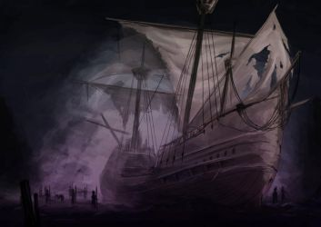 the ghost ship by alexis17