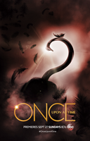 Once Upon A Time - Season 5 (Poster Captain Swan) by Panchecco