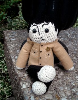 Shea Stadium Paul Plush by LadyFoxtails
