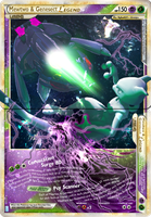 Mewtwo and Genesect LEGEND CaC July Collab by bbninjas