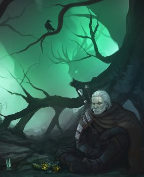 Witcher 3: Wild Hunt by mkw-no-ossan