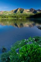 Clear Morning at Lake Irwin by kennedmh