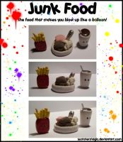 Junk Food-Cute Craft Contest by summermagic