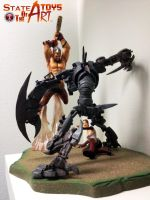 ENSLAVED - Odyssey to the West resin diorama by StateOfTheArt-toys
