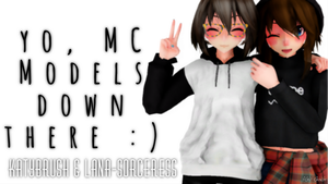 MMD MysMe MC DL Pack ! by Alex-MMD-Studios