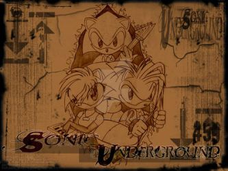 Sonic Underground - Wallpaper by outcastsproductions