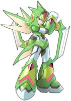 Commission: Scyther and X Fusion by ultimatemaverickx