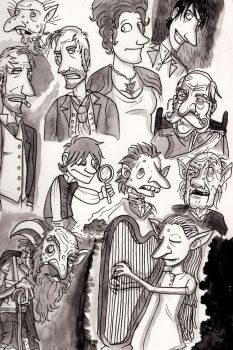Discworld Snuff Doodles by Monkey19934