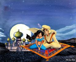 I can show you the world - Aladdin 2 by mistique-girl-olja