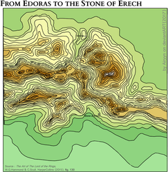 From Edoras to the Stone of Erech by Airyyn