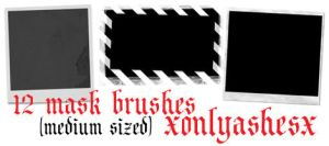 Mask Brush Set 2 by xonlyashesx