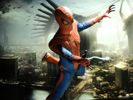 Spiderman - Sky Vault by Riebeck