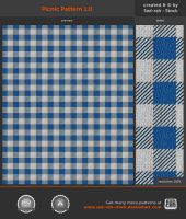 Picnic Pattern 1.0 by Sed-rah-Stock