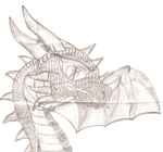 Dragon For Concept Art by HedgeCatDragonix
