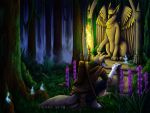 Mystic Forest by Kampfkewob