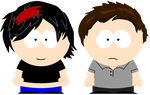 Susie-Flare  and Alex (South Park Styled) by Spongecat1
