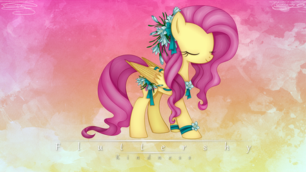 |Collab #1|May Festival Fluttershy by Victoria-Luna