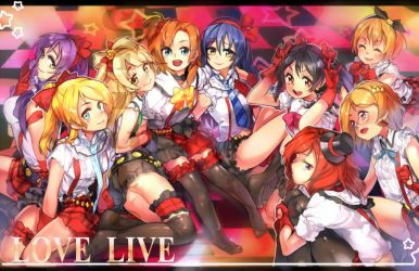 LoveLive! by Girutea