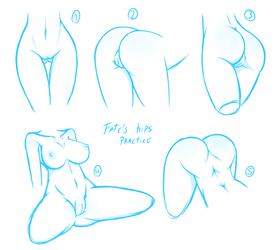 Hips Practice 01 by Fatelogic