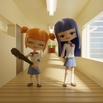 [updated] Pop Team Epic by Azagwen