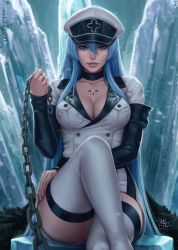 Esdeath - Akame ga Kill! (2v) by Sciamano240