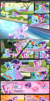 Comic 18 - Opening New Pages by RainbowDashie