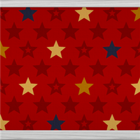 Multicolour Stars (red) by Rosemoji