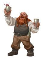 Party Dwarf by capprotti