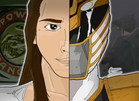 Power Rangers Duality - Tommy Oliver (Falcon Zord) by OptimumBuster