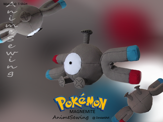 Magnemite by Patrick by animesewing