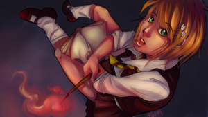Harry Potter Girl Ver.2.0 by sievkatronshea
