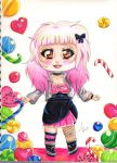 Candy rush - Chibi by LacrimareObscura