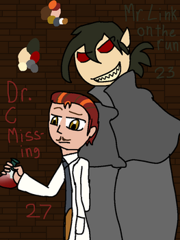 MvA as different monsters Dr. C  M Link by InvisibleVamp97